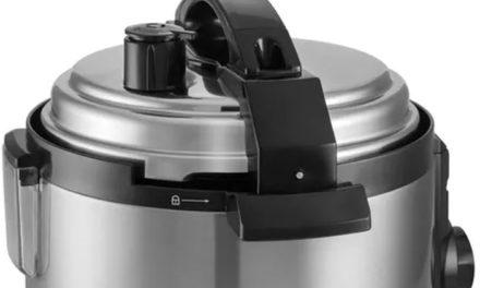 Manual de instruções da panela de pressão Electrolux 3L – PCE10