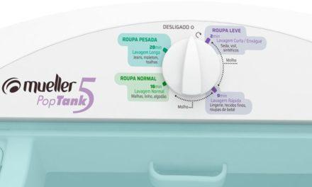 Medidas do Tanquinho de Lavar Roupas Mueller 5Kg PopTank Branco