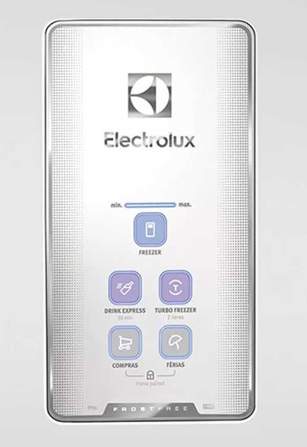 Geladeira Electrolux tf51 e tf52- painel de controle