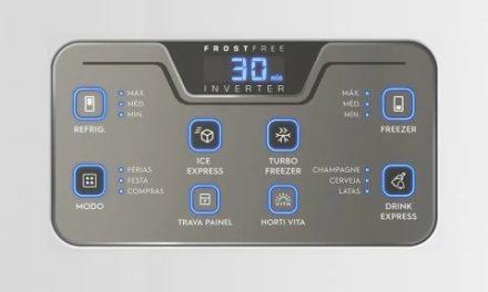 Como ajustar a temperatura da Geladeira Electrolux 454L Inverter – IB53