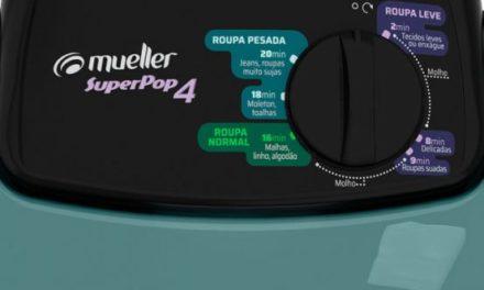 Medidas do Tanquinho de Lavar Roupas Mueller 4Kg SuperPop Preto