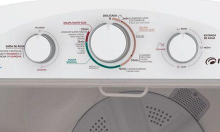 Medidas do Tanquinho de Lavar Roupas Mueller 8Kg SuperTank Branco
