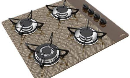 Medidas de Cooktop New Vitra Chocolate a Gás 4B Triplo Casavitra