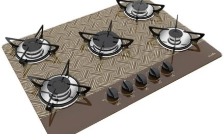 Medidas de Cooktop New Vitra Chocolate a Gás 5B Rápida Casavitra
