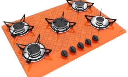 Medidas de Cooktop Tetris Laranja a Gás 5B Rápida Casavitra