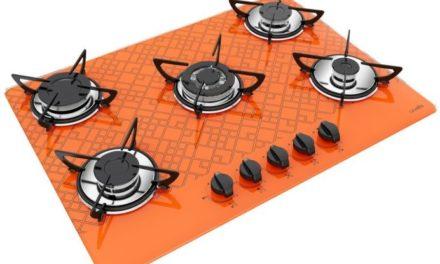 Medidas de Cooktop Tetris Laranja a Gás 5B Tripla Chama Casavitra