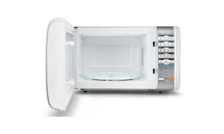 Como ajustar a potência do microondas Midea 25L Grill Branco MTAG3