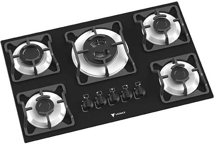 Medidas do cooktop Venax - Arena 5 branco