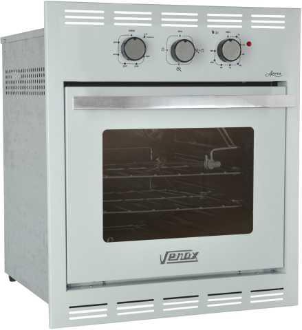 Medidas do forno a gás de embutir Venax 50L Arena branco