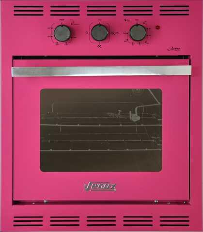 Medidas do forno a gás de embutir Venax 50L Arena Rosa