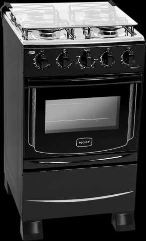 Medidas do fogão a gás Realce - Ares Plus preto 4 bocas