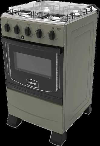 Medidas do fogão a gás Realce - Ares Plus Prata 4 bocas