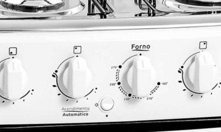 Medidas do Fogão a Gás Realce 4 bocas Ares Plus