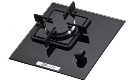 Medidas do Cooktop Built 1 Queimador Preto