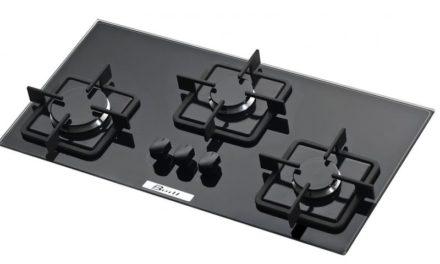Medidas do Cooktop Slim Built 3 Queimadores Preto