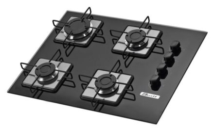 Medidas do Cooktop Built 4 Queimadores Soft Preto