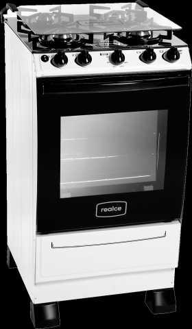 Medidas do fogão a gás Realce - Cronos Glass Branco 4 bocas