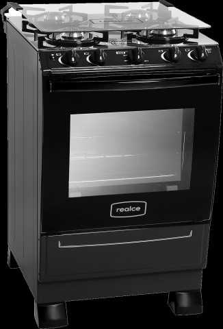 Medidas do fogão a gás Realce - Cronos Glass preto 4 bocas