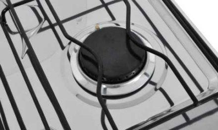 Medidas do Fogão de Piso a Gás Venax Delplus 4Q Preto Fosco