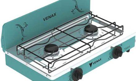 Medidas do Fogão Portátil a gás 2Q Venax Flamalar Vetrô Verde