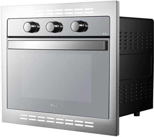 Como limpar o forno elétrico Philco 46 litros de embutir