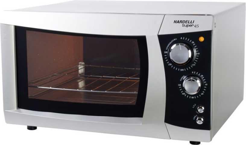 Como limpar o forno elétrico nardelli de embutir 45 litros Super45 Prata