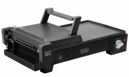 Medidas do Grill Elétrico Black + Decker 3 em 1, abertura 180º – G2200
