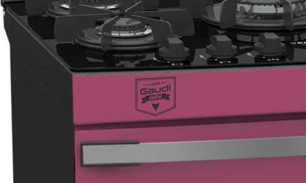 Medidas do Fogão de Piso a Gás Venax Gaudí Vetrô Vítreo 5Q Pink