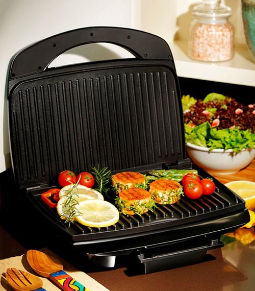 Medidas do grill elétricoBlack+Decker
