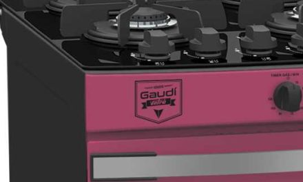 Medidas do Fogão de Piso a Gás Venax Gaudí Vetrô Vítreo 4Q Pink