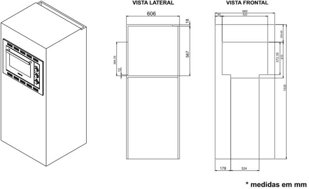 Instalação do forno elétrico de embutir Venax Grand Gourmet