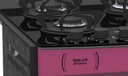Medidas do Fogão de Embutir Venax Gaudí Prisma Vítreo 4Q Pink