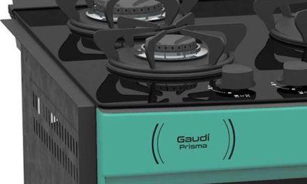 Medidas do Fogão de Embutir Venax Gaudí Prisma Vítreo 5Q Verde