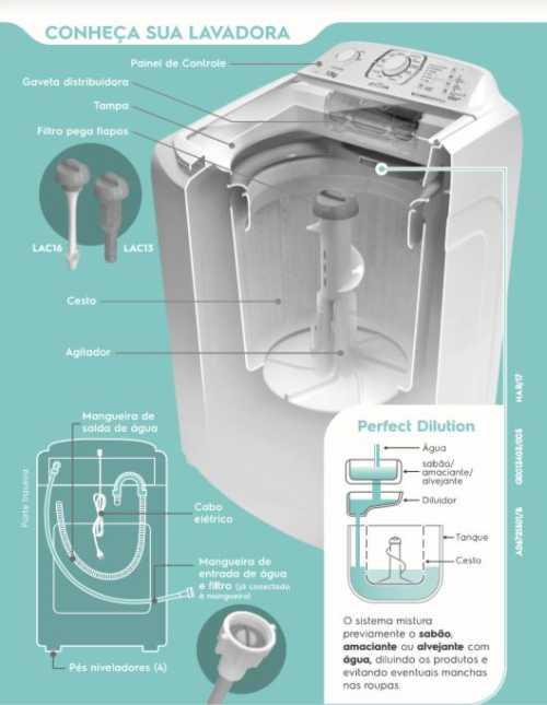 Conhecendo a lavadora de roupas Electrolux LAC13