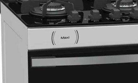 Medidas do Fogão de Piso a Gás Venax Maxi Vítreo 6Q Branco