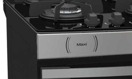 Medidas do Fogão de Piso a Gás Venax Maxi Vítreo 6Q Inox