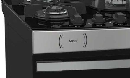 Medidas do Fogão de Piso a Gás Venax Maxi Vitreo 5Q Inox