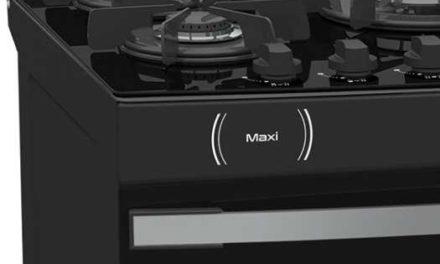 Medidas do Fogão de Piso a Gás Venax Maxi Vitreo 5Q Preto