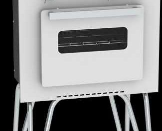 Medidas do Fogão Portátil a gás 2Q Venax Mini Cook Branco