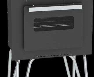 Medidas do Fogão Portátil a gás 2Q Venax Mini Cook Preto