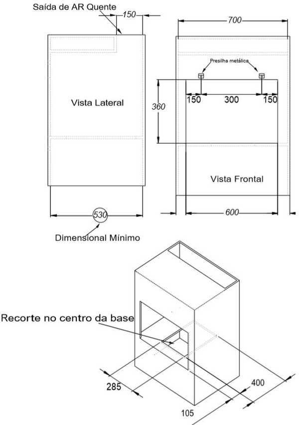 Instalação do Forno Elétrico de Embutir Nardelli 45 litros - N450 - Nicho de instalação