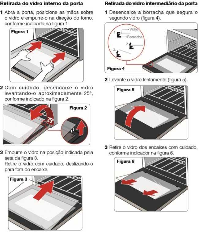 como limpar o forno elétrico electrolux oe8tx - removendo vidro da porta
