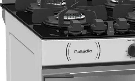 Medidas do Fogão de Piso a Gás Venax Palladio Vítreo 4Q Branco