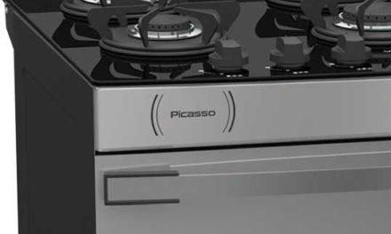 Medidas do Fogão de Piso a Gás Venax Picasso Vítreo 6Q Inox