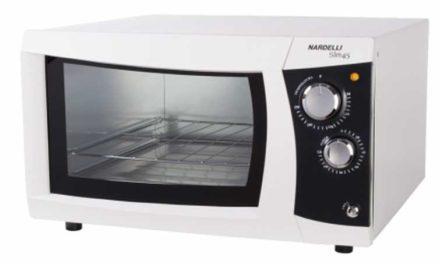 Medidas do Forno Elétrico de Bancada Nardelli 45L Slim 45 Branco