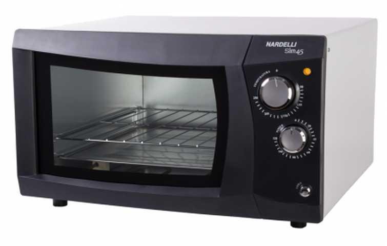 Como limpar o forno elétrico nardelli de embutir 45 litros Slim45 Preto