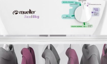 Medidas da Secadora de Roupas Mueller 8Kg Sun