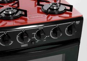 Medidas do fogão a gás Realce 4 bocas