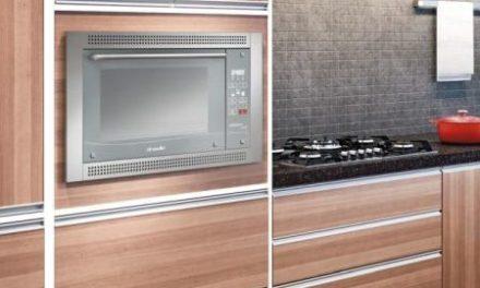 Medidas do Forno Elétrico de Embutir Mueller 44L Celebrare Touch Inox