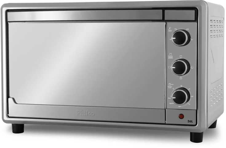 Medidas do forno elétrico Philco 36 litros Inox